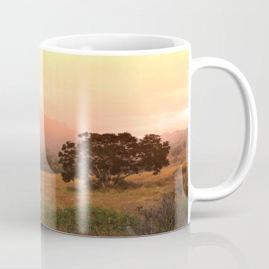 Early Fog In The Hills Mug