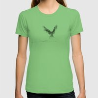 Trembling The Birch Womens Fitted Tee Grass SMALL