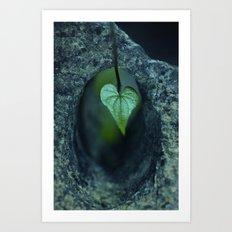 Tunnel of Love Art Print
