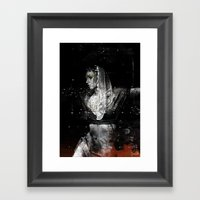 Queen Of Shadows Framed Art Print