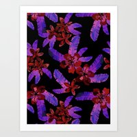 Tahitian Garden {E} Art Print