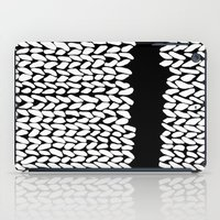 Missing Knit On Side iPad Case
