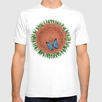 LoveFlower Mens Fitted Tee White SMALL