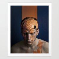 Agent Orange  Art Print