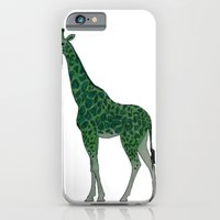 iPhone & iPod Case featuring Giraffe is for Green by iCanSeeMusic
