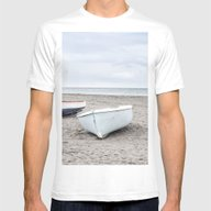 T-shirt featuring Calm Day At The Beach by LebensART Photograph…
