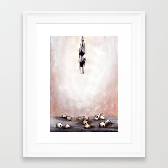 For The Most Of Your Life You Have Accomplished Nothing Framed Art Print
