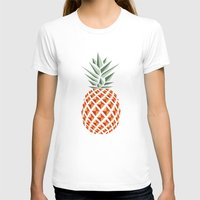 chicago T-shirts featuring Pineapple  by basilique