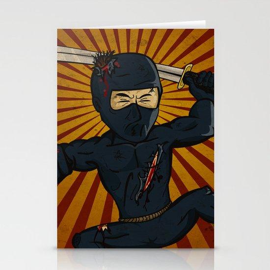 DK Ninja Stationery Card