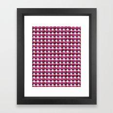 Mars Marbles Framed Art Print