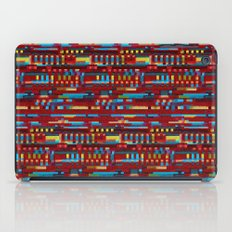 Manly cubes of color iPad Case
