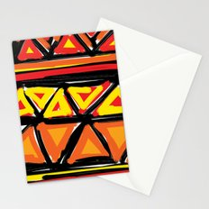 Hot Triangles Stationery Cards