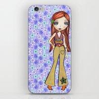 Hippie Heart iPhone & iPod Skin
