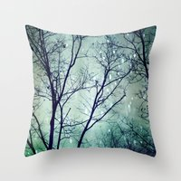 Wintergreen Twilight Throw Pillow