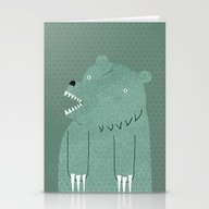 Friendly Bear Stationery Cards