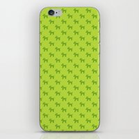 Dogs-Green iPhone & iPod Skin