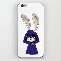 Bunny Raven iPhone & iPod Skin