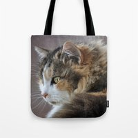 Cassie's Portrait Tote Bag