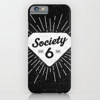 diamond iPhone & iPod Cases featuring Black Diamond by Nick Nelson
