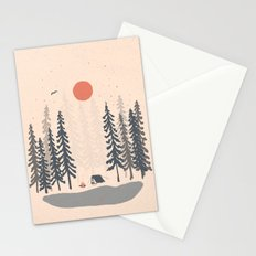 Feeling Small in the Morning... Stationery Cards