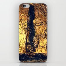 COLLAGE LOVE   SHIPWRECK AT THE BOTTOM OF THE SEA iPhone & iPod Skin