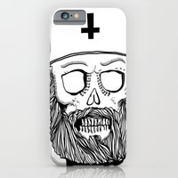 iPhone & iPod Case featuring Satan bless you by Lunaramour