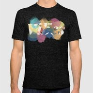 GOOD VIBES Mens Fitted Tee Tri-Black SMALL