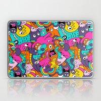 Jumble Bunny Laptop & iPad Skin