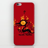 Backfire iPhone & iPod Skin