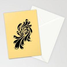 Happy Splash - 1-Bit Oddity - Black Version Stationery Cards