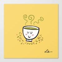 Genmaicha Tea Canvas Print