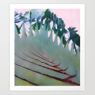 Art Print featuring Palm Springs #society6 by 83oranges.com