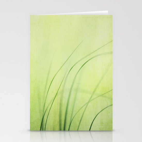 Swaying Grasses (with texture) Stationery Card