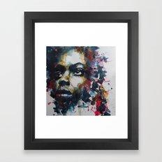 Strange fruit ( Nina Simone ) Framed Art Print
