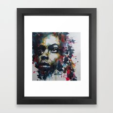 Strange fruit ( Nina Simone ) Framed Art Print