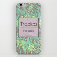 Tropical Paradise: Jade Jungle iPhone & iPod Skin