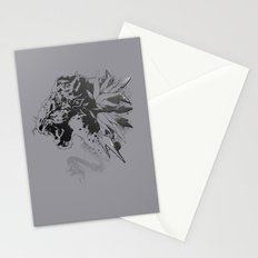 Snow Leopard (Grey) Stationery Cards