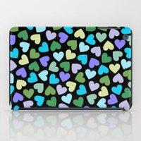 Hearts #3 iPad Case