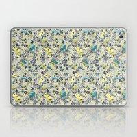 painted floral Laptop & iPad Skin