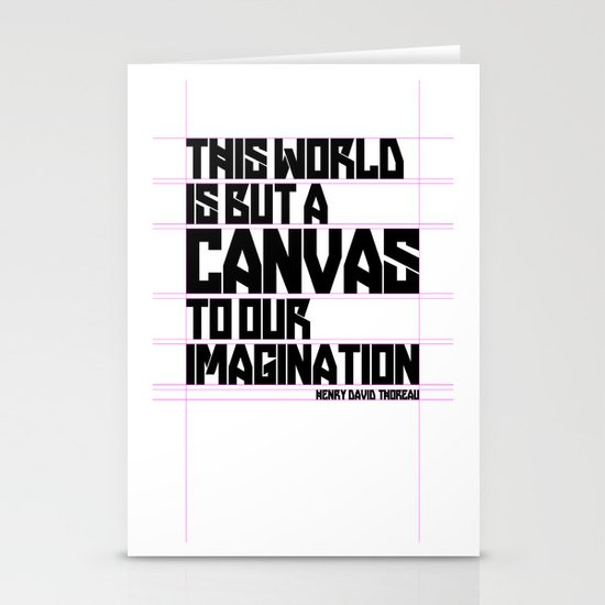 This World... Stationery Card