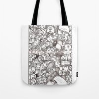 People-B Tote Bag