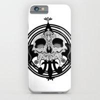 skull and pen iPhone 6 Slim Case