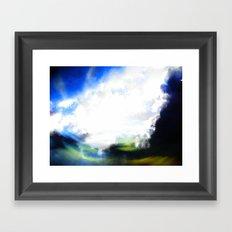 Revolving Sky 2 Framed Art Print