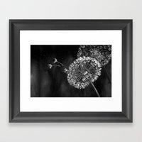 Dark Wishes Framed Art Print