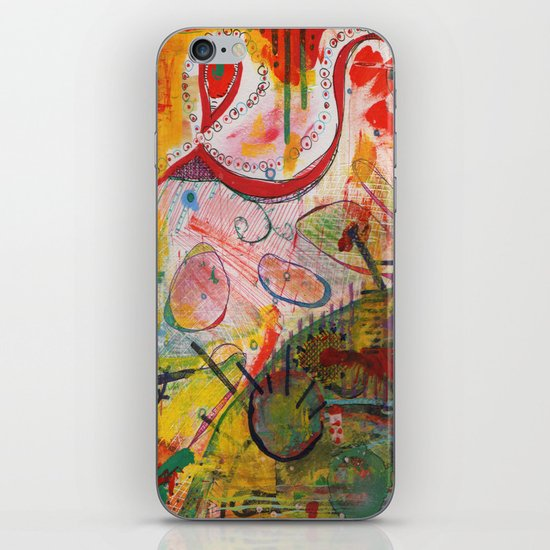 Scan #18 iPhone & iPod Skin