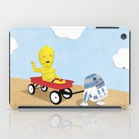 SW Kids - C3PO & R2D2 Red Wagon iPad Case