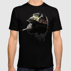 Born to kill Mens Fitted Tee SMALL Black