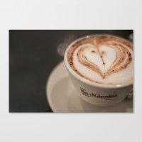 Pisa Cappuccino Canvas Print