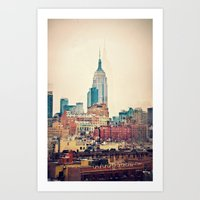 Vintage NYC - Repost For… Art Print