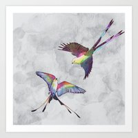 Dreamcatchers Art Print